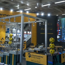 In making : MANSONS Stand at ACMA Automechanika : New Delhi 2019